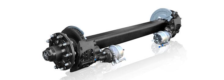 TSB 盘式制动车轴